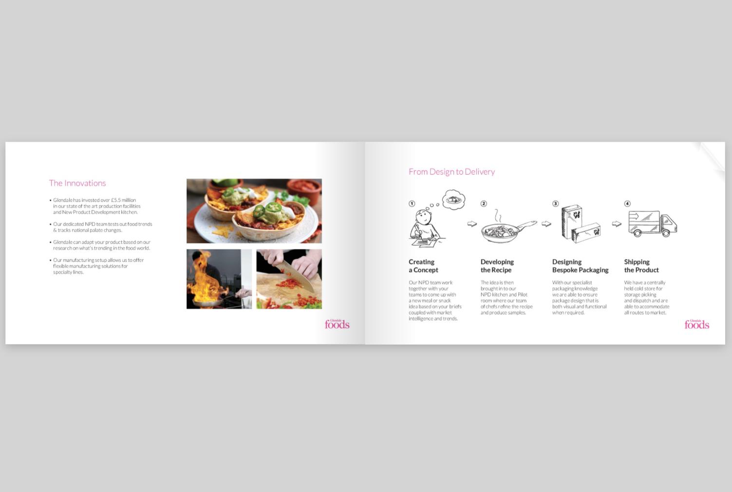 Glendale Foods Presentation E-brochure